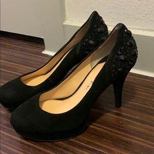 Gianni bini platform black heels